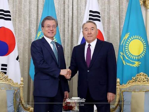 문대통령 중앙아시아 3개국 '신북방정책' 추동 순방 마쳐
