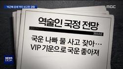 이명박근혜 나랏일까지 점괘의존? 정보경찰 역술인 보고서
