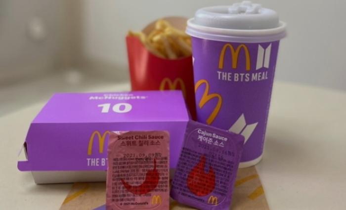 맥도날드 BTS세트메뉴 덕 매출 40.5% 증가, 코로나19에도 세계에서